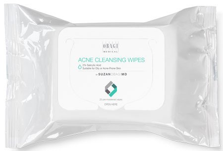 SUZAN OBAGI MD Acne Cleansing Wipe - Plastic Surgeons of Akron